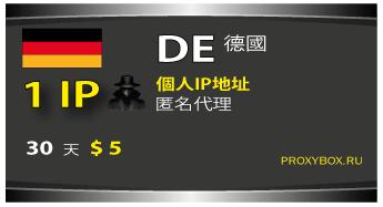 德国个人IP地址