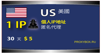 美国的个人IP地址
