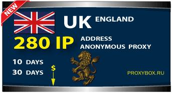 ENGLISH anonymous proxies 280 IP