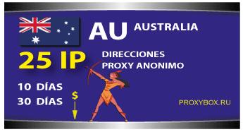 AUSTRALIA 25 IP proxy