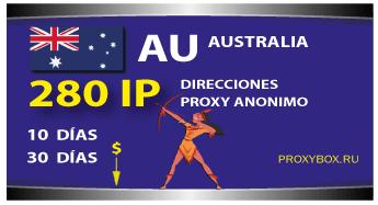 AUSTRALIA 280 IP proxy