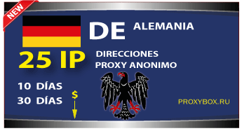 ALEMANIA 25 IP proxy