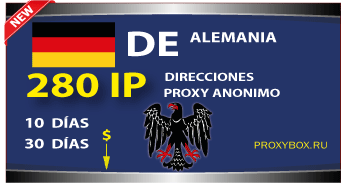 ALEMANIA 280 IP proxy