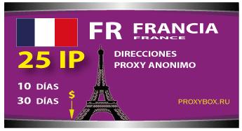 FRANCIA 25 IP proxy