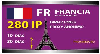 FRANCIA 280 IP proxy