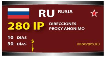 RUSIA 280 IP Proxy