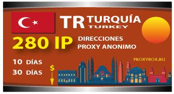 TURQUÍA 280 IP proxy