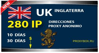 INGLATERRA 280 IP proxy