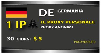 Personale Germania proxy