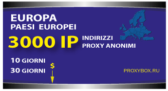 EUROPA 3000 IP proxy
