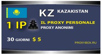 Proxy personale Kazakistan