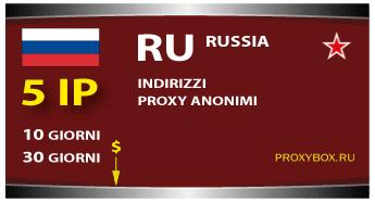 Russia 5 IP proxy