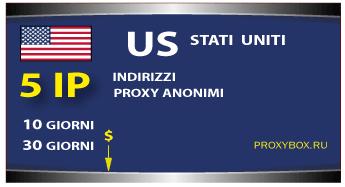 USA proxy 5 IP