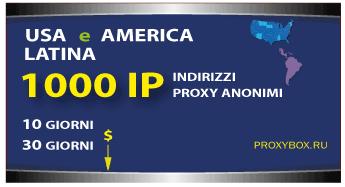 USA e LATINA 1000 IP