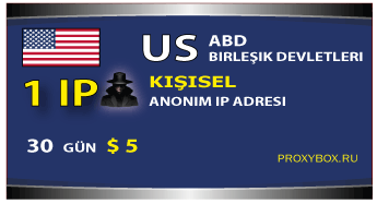 ABD - kişisel IP adresi