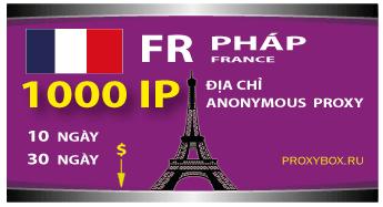 PHÁP. 1000 địa chỉ IP