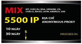5500 IP, anonymous proxy