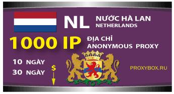Nước Anh. 1000 địa chỉ IP