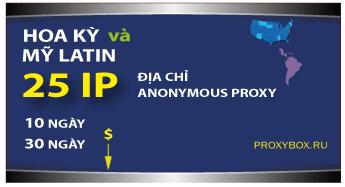 US and Latina 25 IP proxy