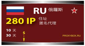 Russia proxi 280 IP