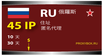 Russia 45 IP proxi