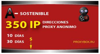 SOSTENIBLE 350 IP proxies