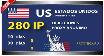 US 280 IP proxies