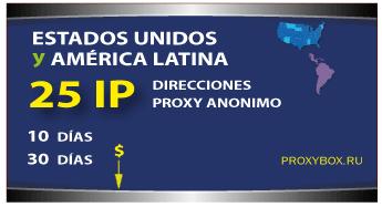 US - LATINA 25 IP proxies