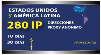 US - LATINA 280 IP proxies