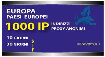 EUROPA 1000 IP proxy