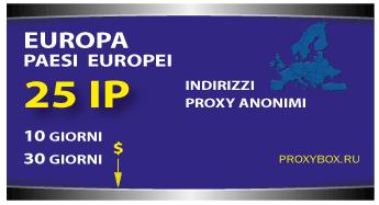 EUROPA 25 IP proxy