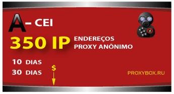 350 proxies anônimos do CIS