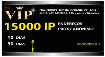 15.000 proxies anônimos
