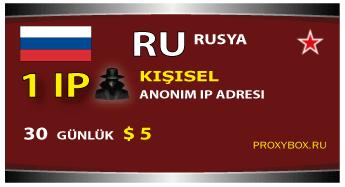 Kişisel IP adresi Rusya