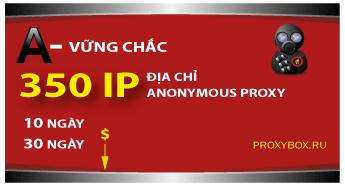 Stable 350 IP proxy