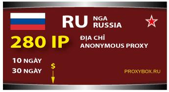 Nga proxies. Russia proxy 280 IP