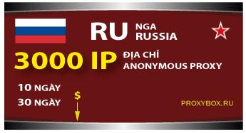 Nga.Russia - 3000 IP